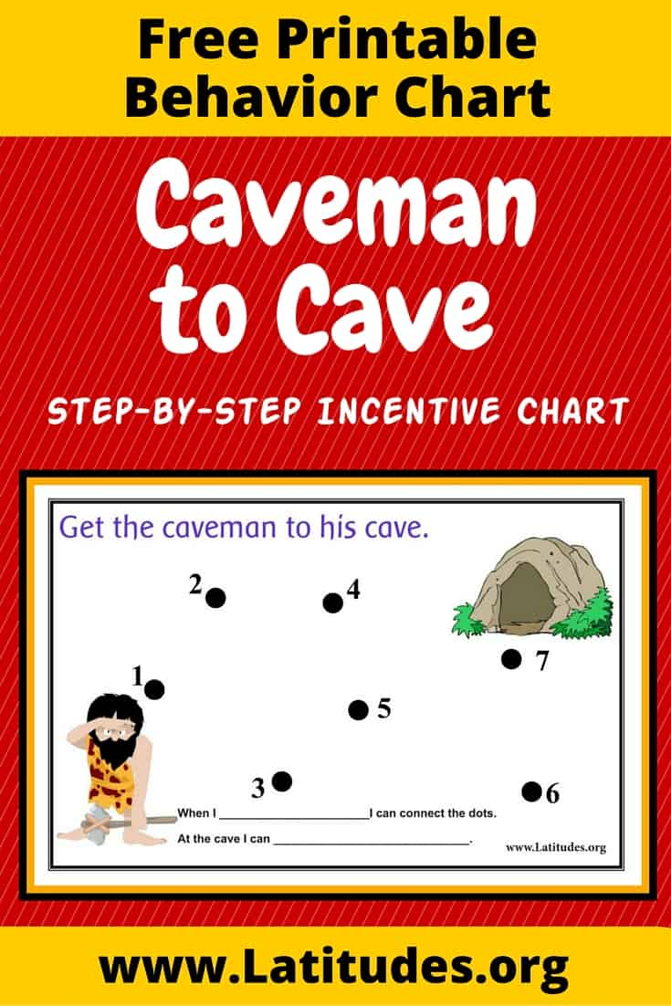Caveman to Cave Behavior Chart Pinterest