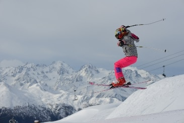 """Meredith now: """"I really love skiing. I feel like Tourette's can't stop me now! I never could have done this before with all my tics."""""""