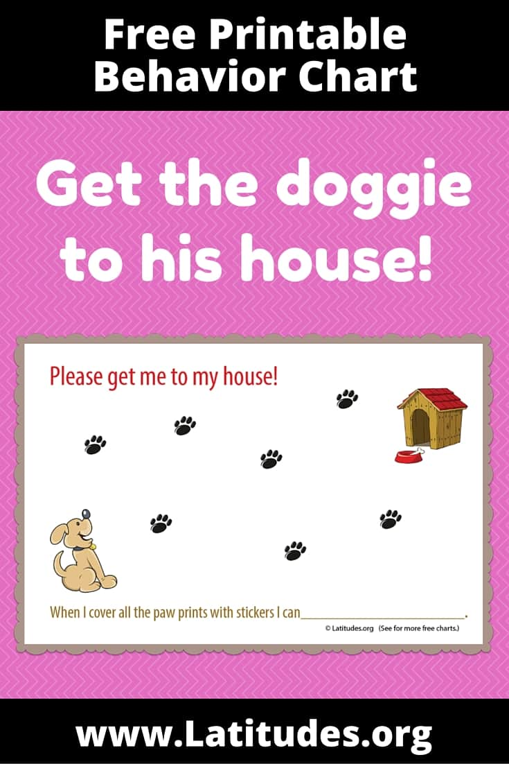 Get Dog To House Behavior Chart Pinterest