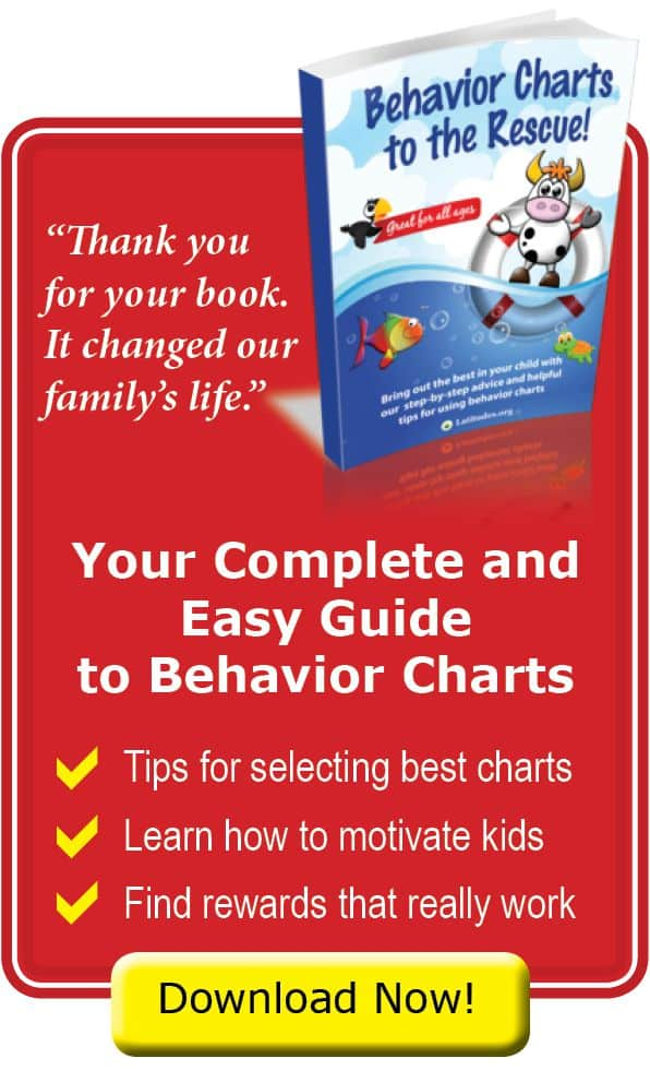 Children Behavior Chart Book Guide for Parents and Teachers
