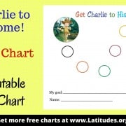 Get Charlie to His Home 7-Step Sticker Chart WordPress