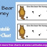 Give the Bear the Honey Behavior Chart WordPress