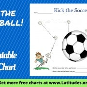 Kick the Soccerball! Behavior Chart WordPress