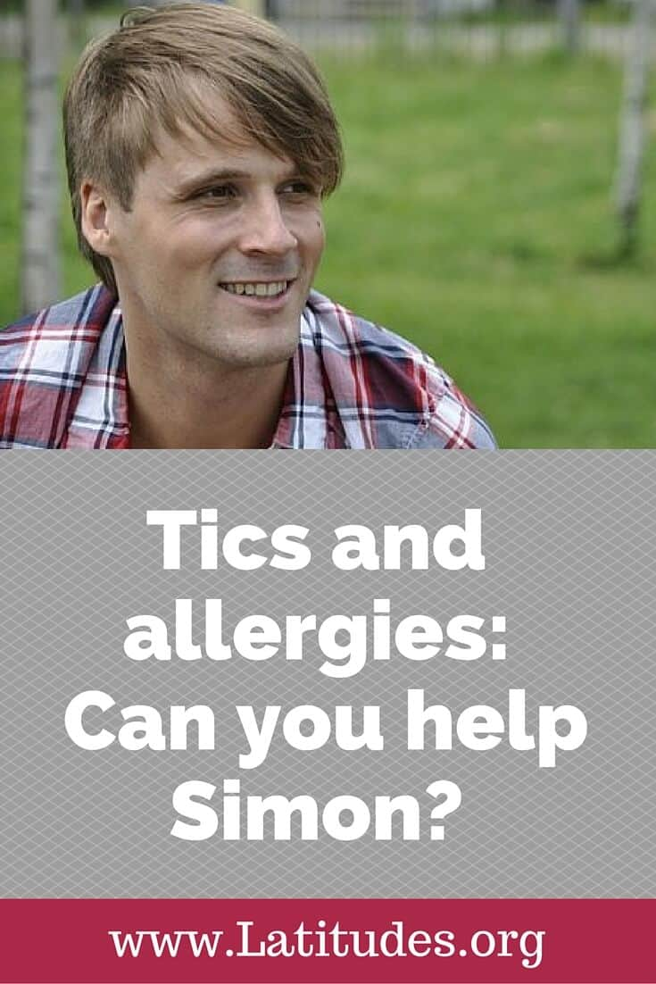 tics and allergies can you help simon pinterest