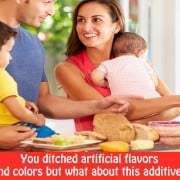You ditched artificial flavors and colors