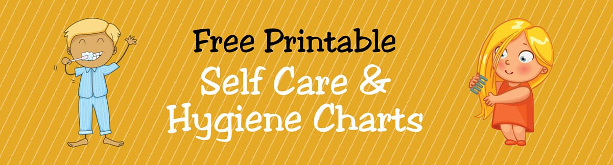 Header Self-Care & Hygiene Charts