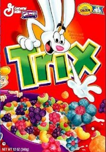 trix cereal crazy rabbit