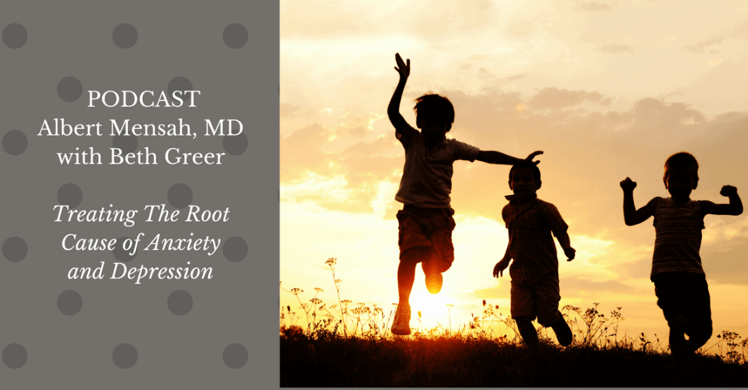 Dr. Mensah on Anxiety and Depression Podcast Wordpress(1)