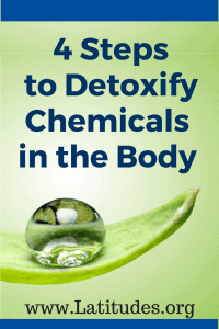 4 Steps to Detoxify Chemicals in the Body