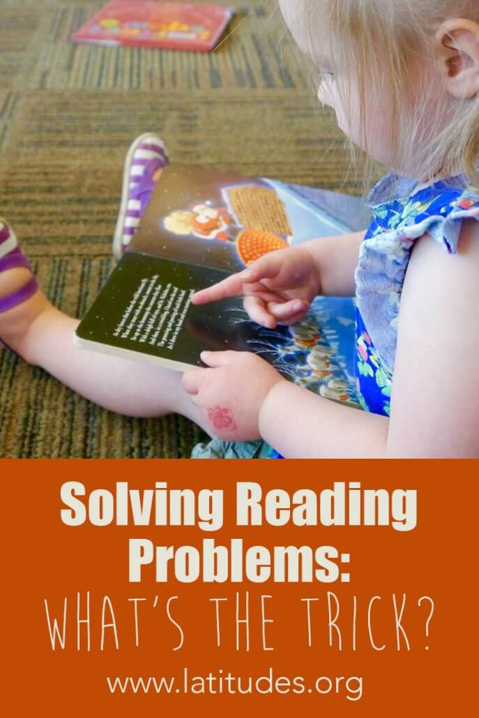 Solving Reading Problems What's the Trick