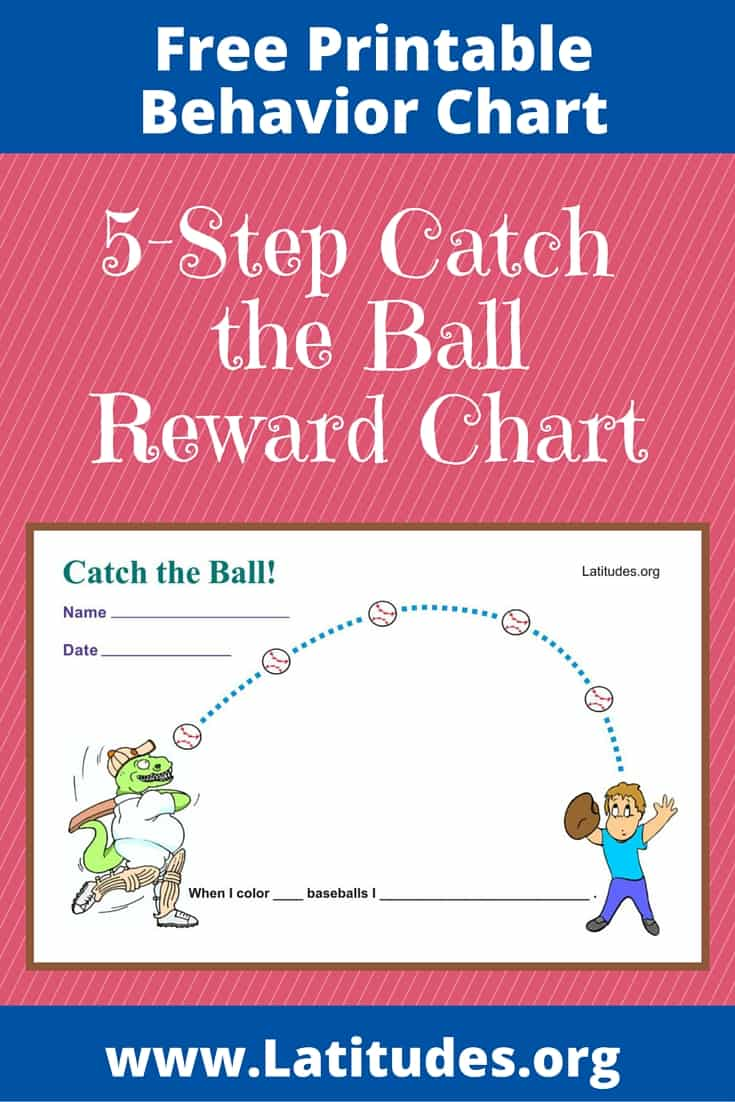FREE Catch the Ball Behavior Chart