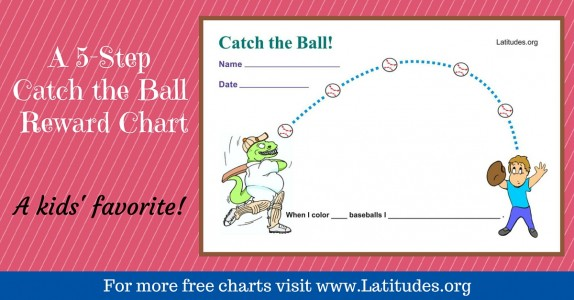 Catch the Ball Behavior Chart WordPress