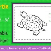 Color the Turtle's Back Behavior Chart
