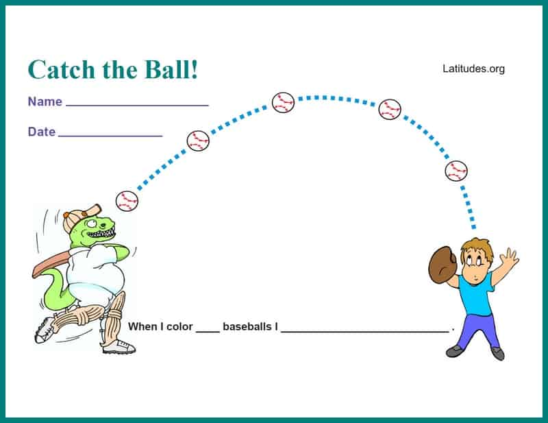 Catch the Ball Incentive Chart
