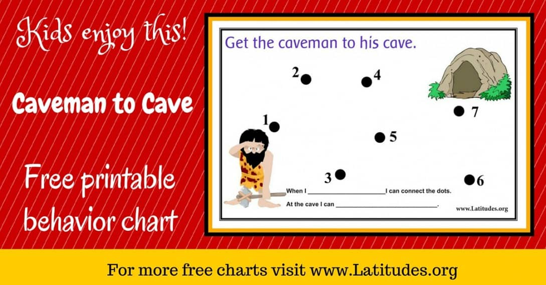 Caveman to Cave Behavior Chart