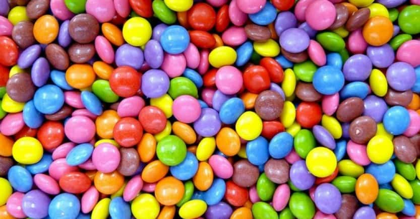 smarties colored
