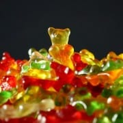 gold bear candy