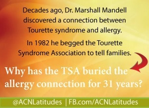 Tourette Syndrome Association Marshall Mandell