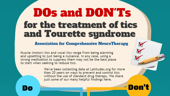 the features of tourette syndrome and its treatment