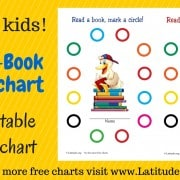 Read a Book Reward Chart WordPress
