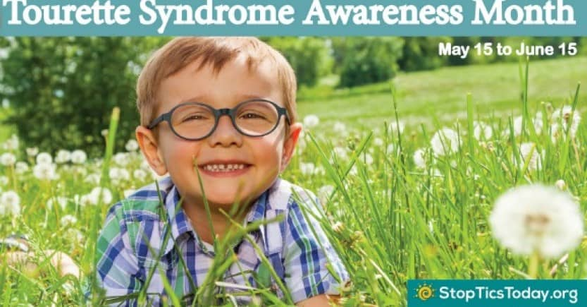 Help spread the word on Tourette syndrome awareness month