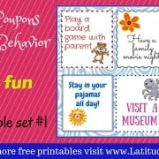 Summer Reward Coupons Family Fun