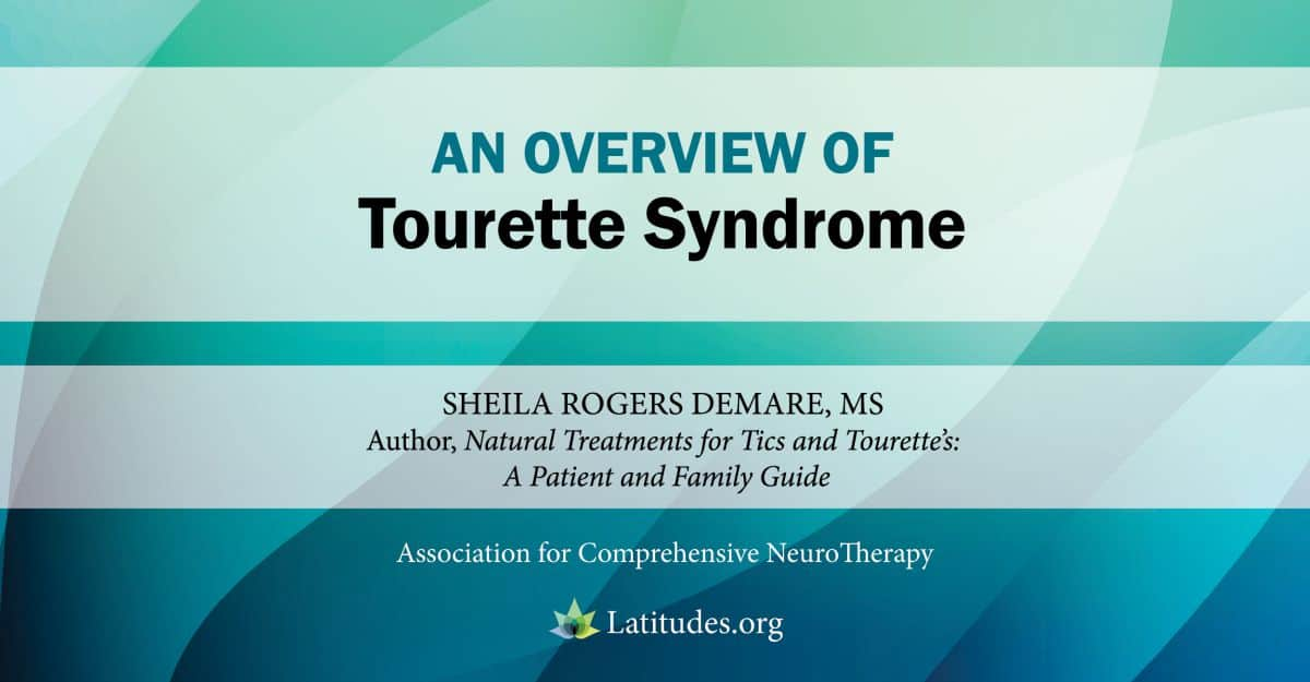the causes of the tourette syndrome