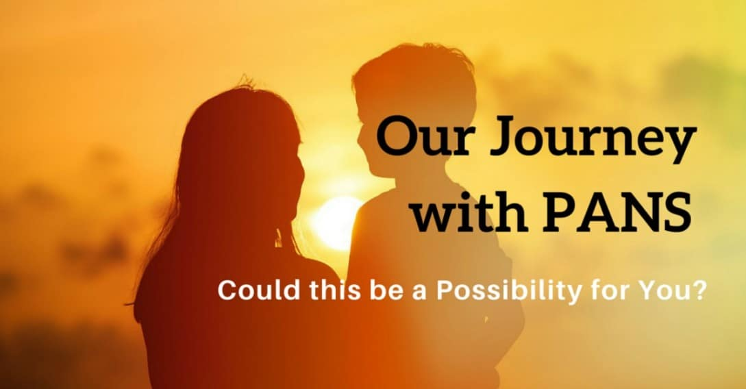 Our Journey with PANS Could this be a possibility for you