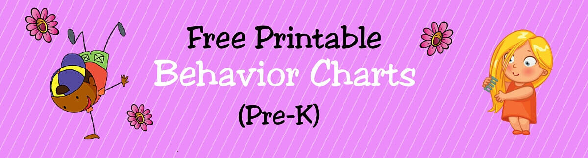 Header Behavior Charts (Pre-K)