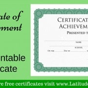 Intermediate Certificate of Achievement WordPress