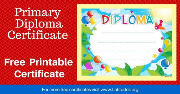 Primary Diploma Certificate WordPress