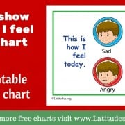 Simple Let Me Show You How I Feel Today Chart WordPress