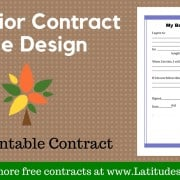 Tree Behavior Contract Wordpress