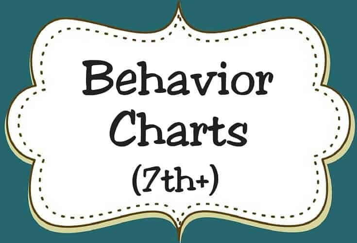 Behavior Charts 7th Icon