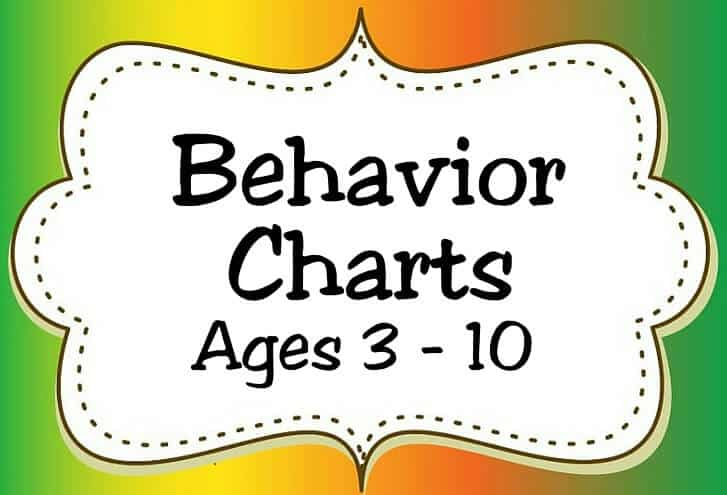 Behavior Charts Ages 3 10 Icon