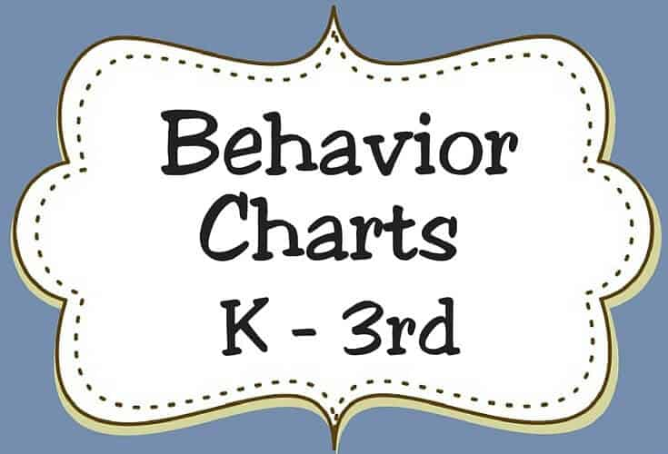 Behavior Charts K 3rd Icon