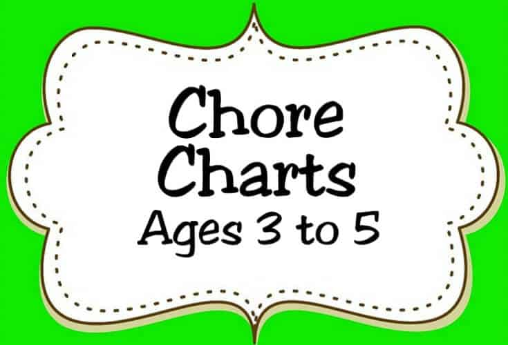 Chore Charts Ages 3 to 5 Icon