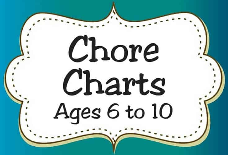 Chore Charts Ages 6 to 10 Icon