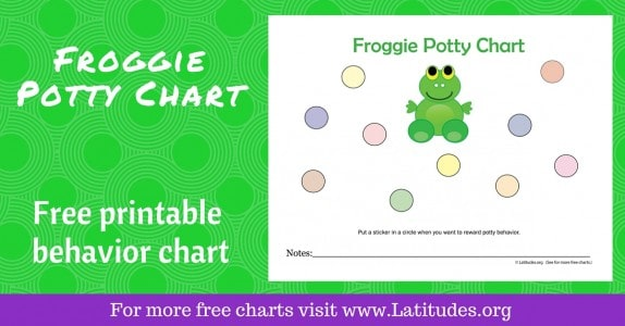 Froggie Potty Chart WordPress
