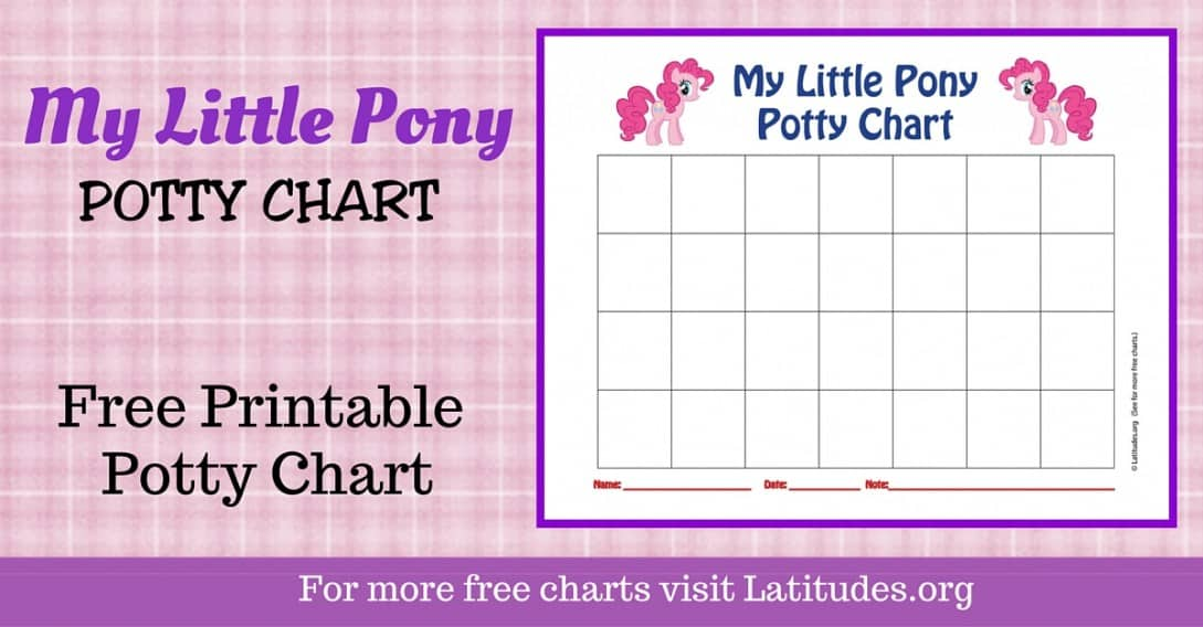 My Little Pony Potty Chart WordPress