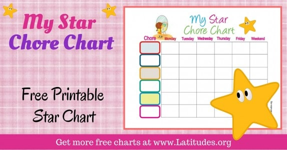 My Star Chore Chart WordPress