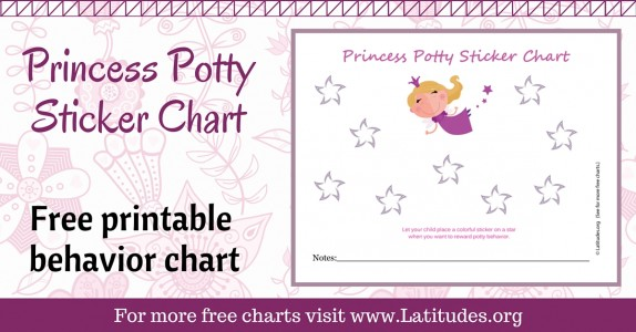 Princess Potty Sticker Chart WordPress