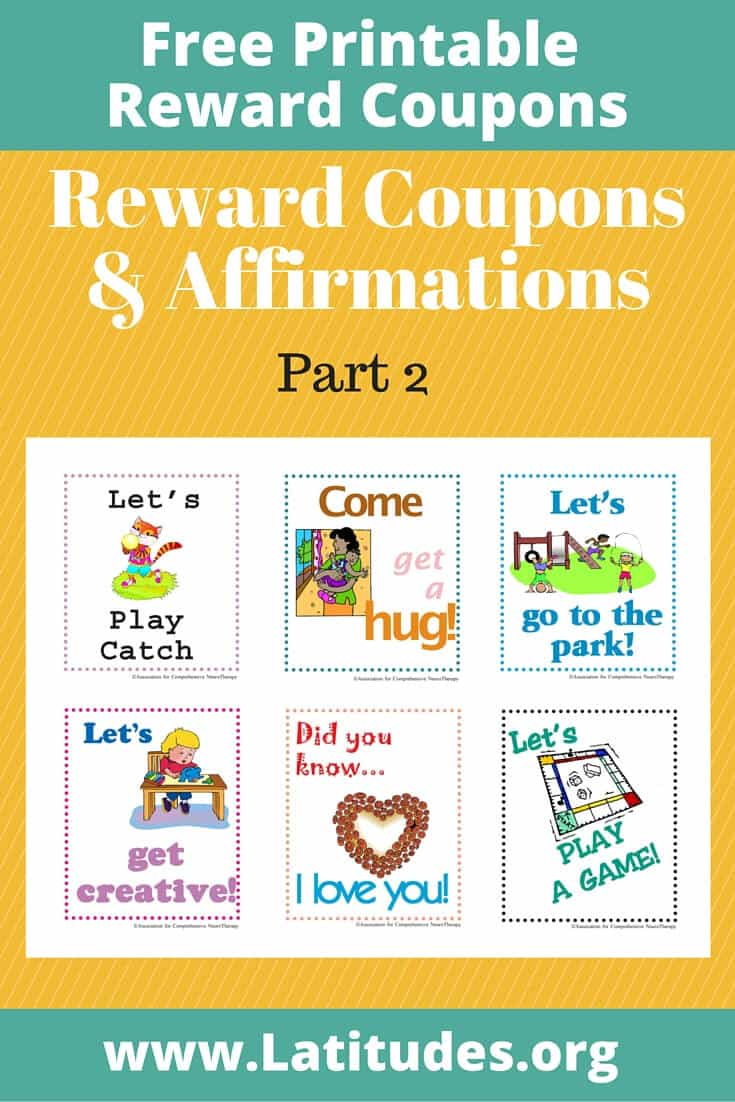 Reward Coupons Affirmations Part 2 Pinterest