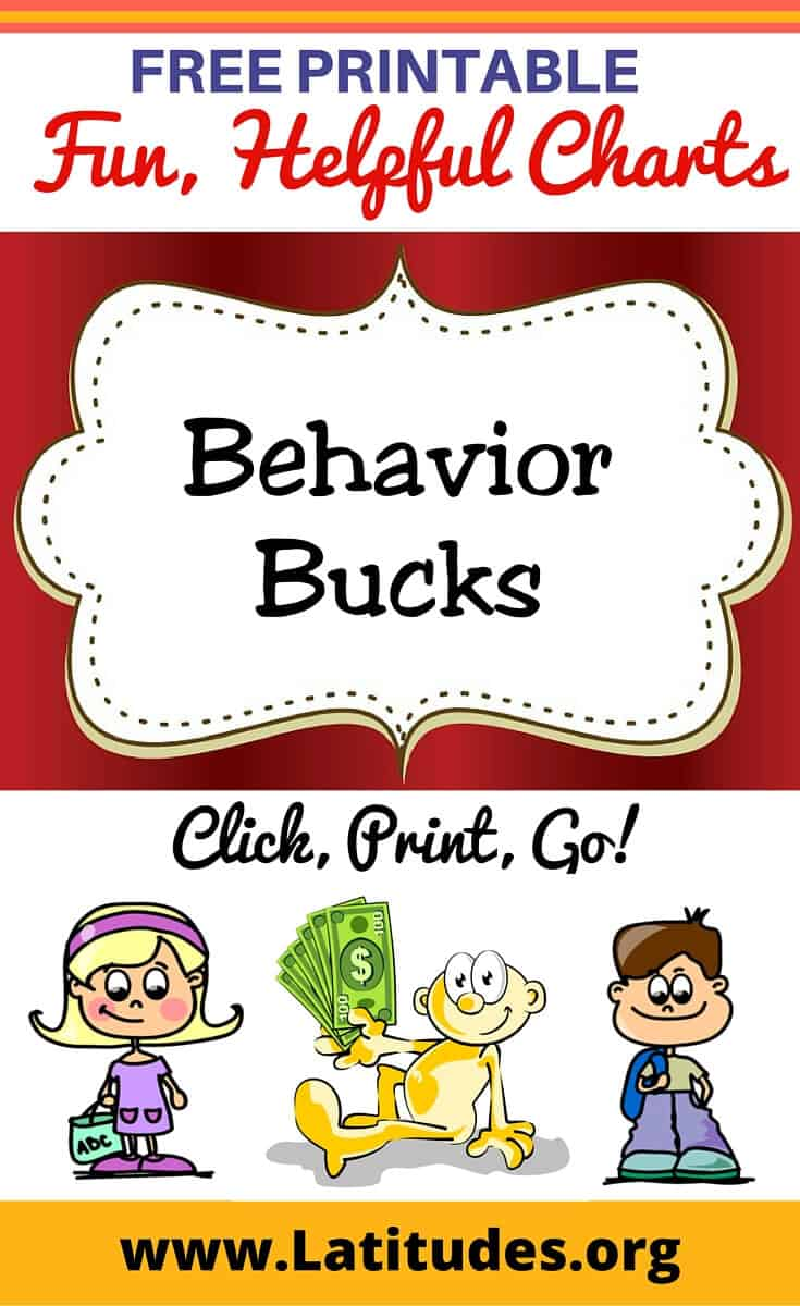 Behavior Bucks Pinterest