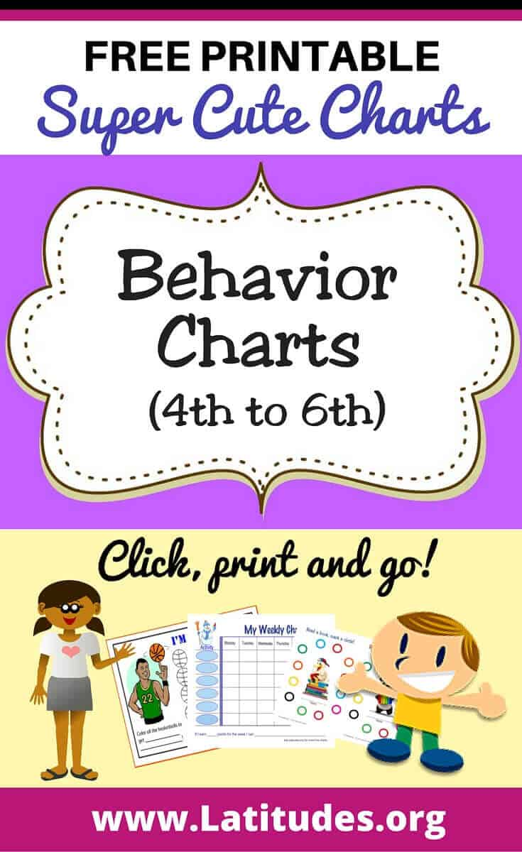 Behavior Charts (4th - 6th)