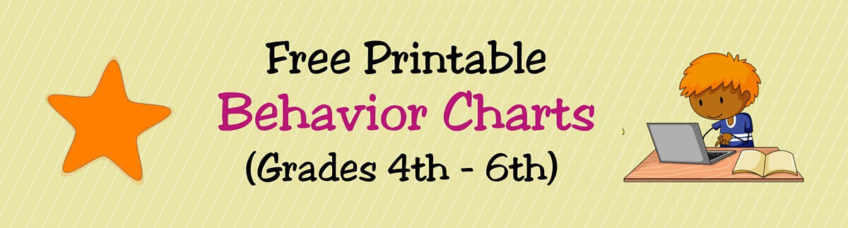 Header Behavior Charts (4th - 6th)
