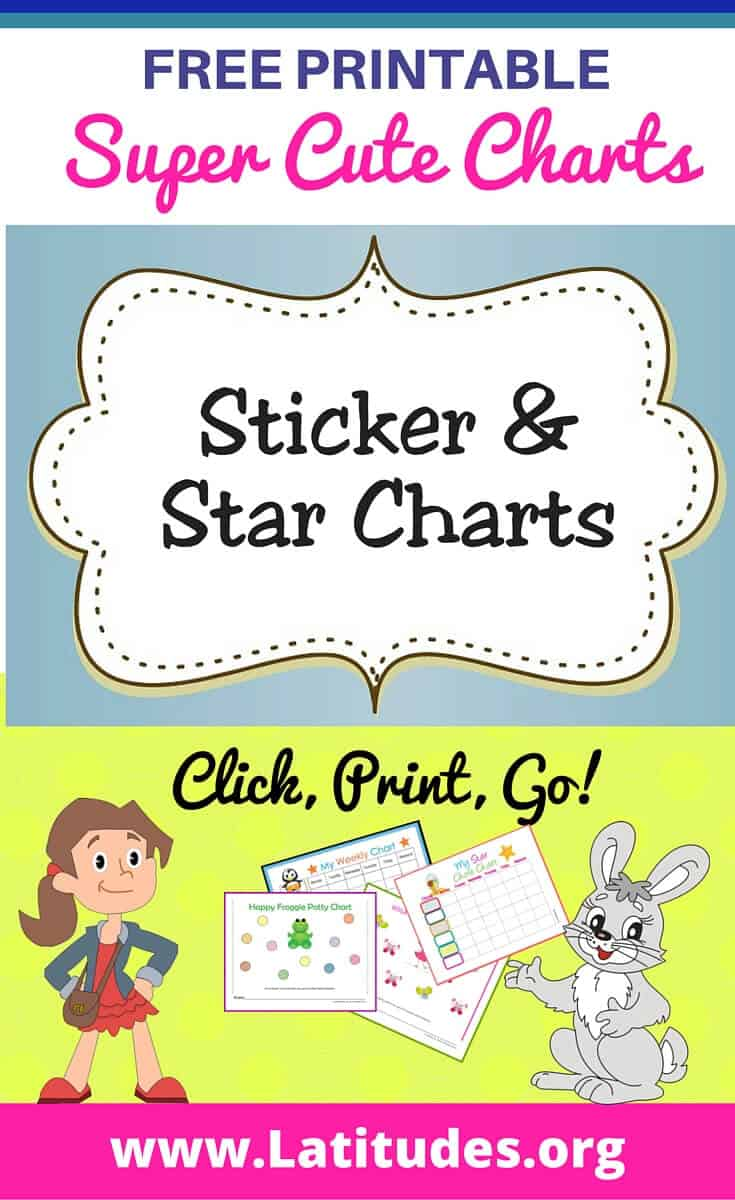 image about Printable Incentive Charts named Totally free Printable Sticker Star Charts for Children ACN Laudes