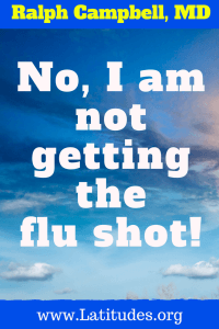 Influenza no i am not getting the flu shot 2
