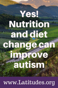 nutrition and diet change can improve autism
