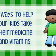 14 ways to help your kids take medicine